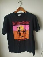 Endless Summer Shirt Mens Sz L Large Hawaiian Island Creations HIC Black vintage