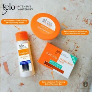 Belo Kojic Acid + Tranexamic Acid Set (Toner, Soap and Cream)