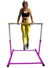 ToyKraft Gymnastics Bar Athletic Horizontal Kip Bar for Gymnasts Training Purple