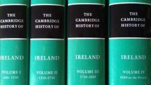 The Cambridge History of Ireland [Complete 4 Volume Hardback Set]