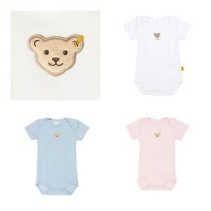 Steiff Body Bodys Kurzarm Baby Art. L000011201 Gr. 56 62 68 74 80 86  NEU