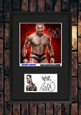 More details for (#233 ) randy orton wrestling wwe signed photograph mounted framed/unframed pp**