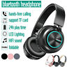 ❤ Wireless bluetooth Headphones Foldable Headset Stereo Super Bass Earphones