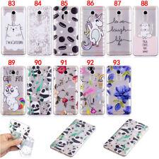 Cat Panda Flower Slim TPU Rubber Gel Case Cover For Xiaomi Redmi 4A 4X Note 4 4X