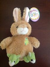 """2000 March of Dimes Bean Bags for Babies Bunny Plushland 6"""" stuffed toy"""