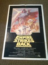 The Empire Strikes Back 1981 ReRelease Original 1 Sheet Movie Poster NSS Version