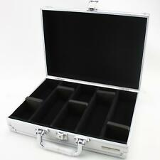 Aluminium Coin Case for 2 x 2 coin holders wallets and capsules with 5 rows