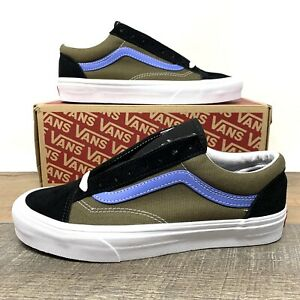 VANS Style 36 Vintage Sport Beech Ultramarine Men's Skate Shoes - Size 9.5