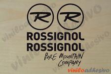 PEGATINA STICKER VINILO Rossignol pure mountain company esqui snowboard ski