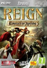 Reign: Conflict of Nations (PC DVD) BRAND NEW SEALED