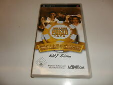 PlayStation Portable PSP  World Series of Poker - Tournament of Champions