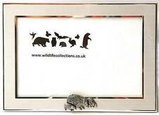 Hedgehog Design Photo Picture Frame Wildlife Gift Landscape