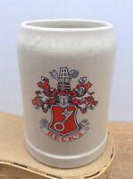 VINTAGE .5 LITER 1/2 GERMAN Salt Glazed STONEWARE MUG- Beck's