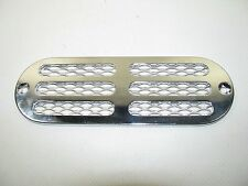 "Perko 1271 Chrome Plated Zinc Alloy Transom or Locker Vent  6"" x 2"""