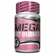 Mega Fat Burner - Biotech USA - 90 Diet Pills L-carnitine Green Tea Caffeine