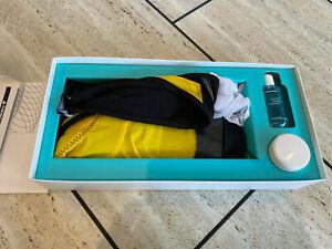 Assos F1 Uno S5 Cycling Bib Shorts Yellow - Size Medium New in Box