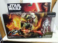 "ASSAULT WALKER & STORMTROOPER SERGEANT 3.75"" Deluxe Star Wars FORCE AWAKENS NEW"