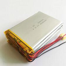 5 pcs 3.7V 4000mAh LiPo Polymer Battery For Power Bank Tablet PC PAD DVD 606090