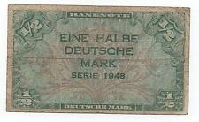 GERMANY 1/2 MARK 1948 PICK 1 A LOOK SCANS