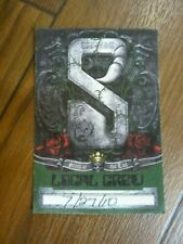 Scorpions Sting in the Tail 2010 Local Crew Tour Backstage Concert Pass
