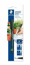 Staedtler Garden Marker Pen Permanent Outdoor Marker - Black - Twin Pack