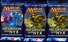 MTG MAGIC  3  BOOSTERS INCURSION DANS LE NYX  français