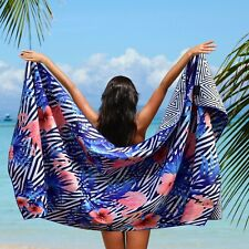 Microfiber Beach Towel Oversized - XL 78 x 35 - FLAMINGO