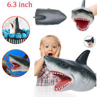 Shark Hand Puppet Soft Kids Toy Great Cake Decoration Topper Jaws Child Gift New