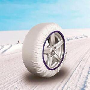CAD8014 EASYSOCK - Juego de 2 cadenas textiles de nieve, para coche TALLA: M