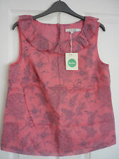Boden Cotton Floral Sleeveless Tops & Shirts for Women