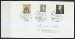 Germany cover 1970 Christkind-Dorf Himmelpforten with Nice franking .Christmas