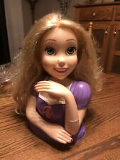Disney Princess Deluxe Rapunzel Pretend Play Toy Doll Styling Head Girls Gift