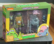 NECA TMNT Donatello vs. Krang 2-pack NEW Teenage Mutant Ninja Turtles Sealed!