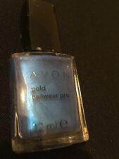 Avon Cosmetics Gold Nail Wear Pro colour Blue