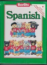 Berlitz Jr. Spanish (Book & Audio Cassette)