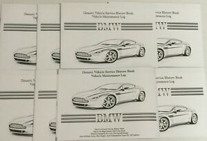 Generic Service History Book Suitable For BMW Series 1, 3, 4, 5, 6, 7, X1