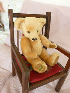 Vintage Merrythought bear.