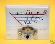 1pc GS-1 Panel SWR & Power Meter DC=200uA Radioshack SD FlashStar Taiwan