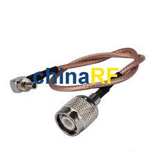 TNC Plug male to CRC9 pigtail cable for 3G huawei usb modem E156 E160 E169 E182