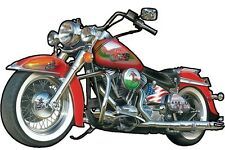 Jigsaw puzzle Motorcycle Fast Lane 1000 piece NEW Made in USA