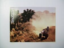 1986 YAMAHA TRI-Z  Sales literature/ Sales brochure (NOS--not a reprint)