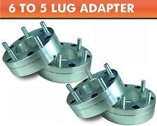 4 Wheel Adapters 6x5.5 to 5x5 ¦ New Durango 5 Lug Wheels On 6 Lug Chevy Colorado