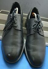 MEPHISTO AIR~JET SMART CLASSIC BLACK LEATHER SHOES UK 8 EU 42 US 8.5""