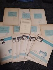 New listing Vintage Singer Sewing Guides Manuals & Home Dressmaking Course booklets