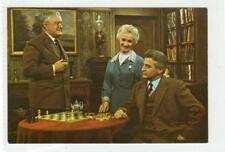 DR FINLAY'S CASEBOOK: BBC Television programme postcard with chess theme (30078)