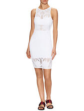 NWT MARA HOFFMAN Designer Jacquard Lace Swimsuit CoverUp Dress $234 Fitted Large