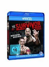 WWE Survivor Series 2011 Blu ray ORIG WWF de catch (the Rock & John Cena équipe)