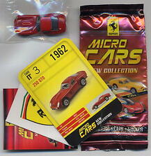 Micro Cars 2015 FERRARI 250 GTO #03 +card+sticker+bag+bpz 1/100 Kyosho MIB