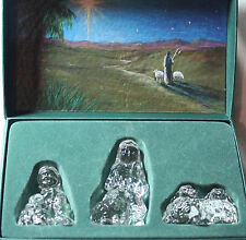 3 pc. Waterford NATIVITY SHEPHERDS AND FLOCK **BOXED**