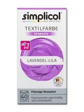Simplicol 1807 Textilfarbe Intensiv All-in-1 flüssig, Lavendel-Lila